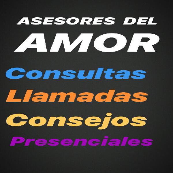 Equipo de asesores del amor ofrecen sus servicios