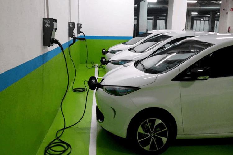 Instalación punto carga coche eléctrico