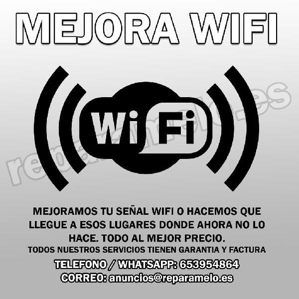 Mejora el alcance de tu conexión wifi