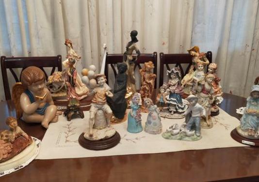 11 figuras femeninas decoración