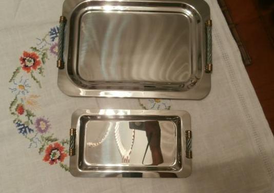 2 bandejas de acero