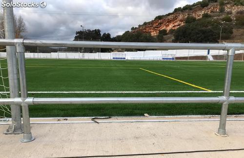 Barandillas Perimetrales para Campos de Fútbol