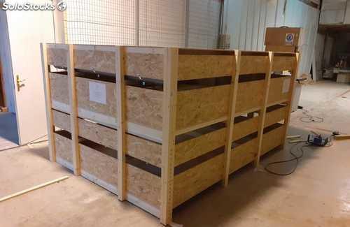 Cajas de madera a medida para el transporte de animales