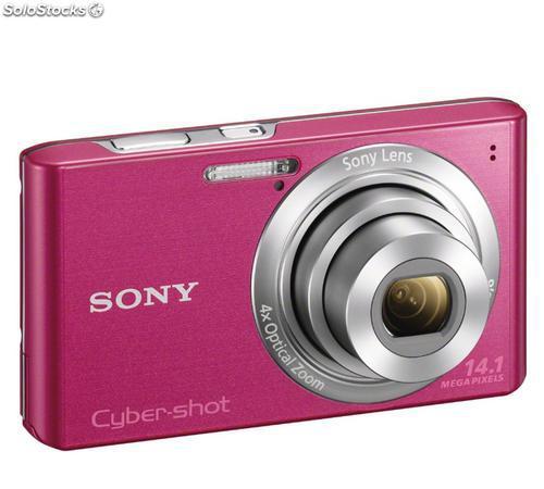 "Cámara de fotos compacta sony dsc-w610p 14.1mp lcd 2.7"""