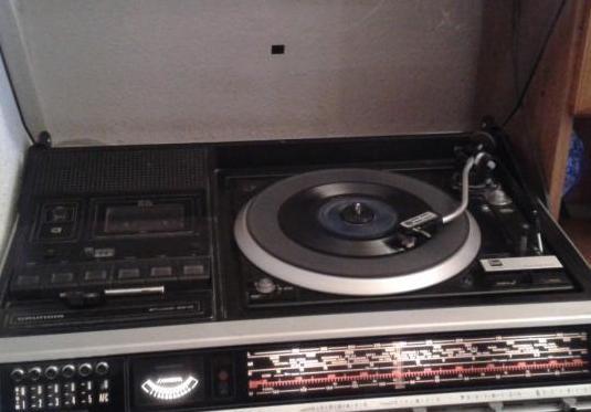 Compacto tocadiscos grundig año 1980