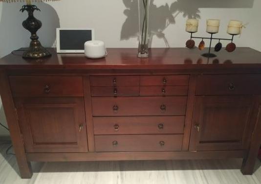 Conjunto salón madera calidad