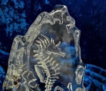 Cristal pisapapeles república checa