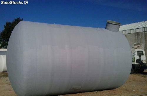Deposito de agua estanco para enterrar 10000 lts