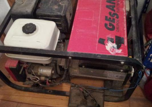 Generador eléctr gesan-honda, 13 cv, 6800 w