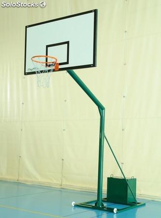 Juego de Canastas de Baloncesto Trasladables