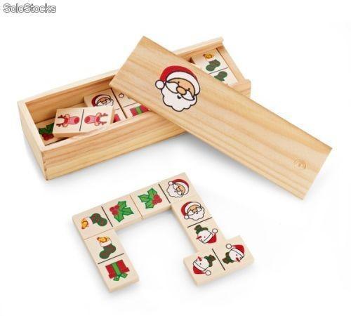 Juego de dominó navideño