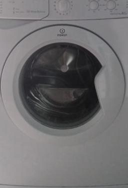 Lavadora indesit con porte 120euros