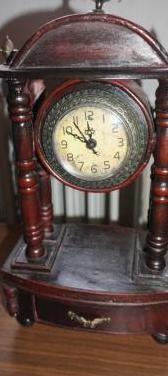 Relojes antiguos madera ver fotos