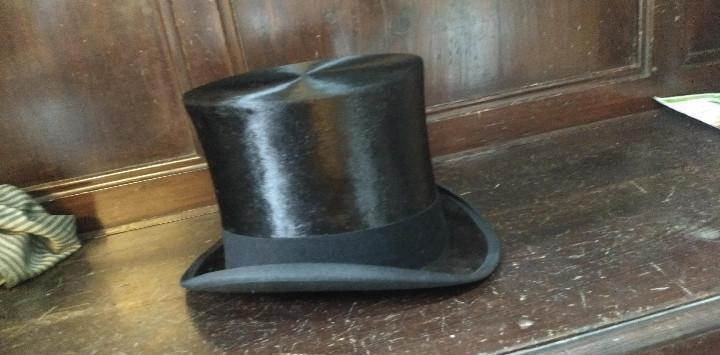 Sombrero de copa, sombrerería vda. antonés barcelona.