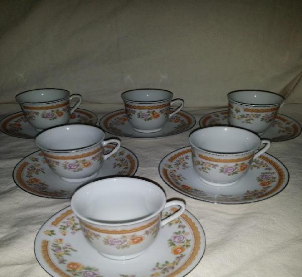 Tazas de cafe o te china med. s. xx