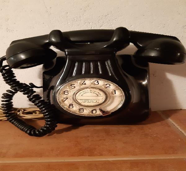 Teléfono antiguo baquelita compañía telefónica nacional