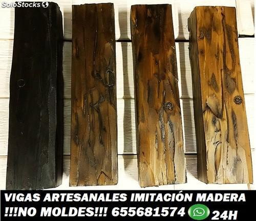Vigas imitación madera a medida para forrar