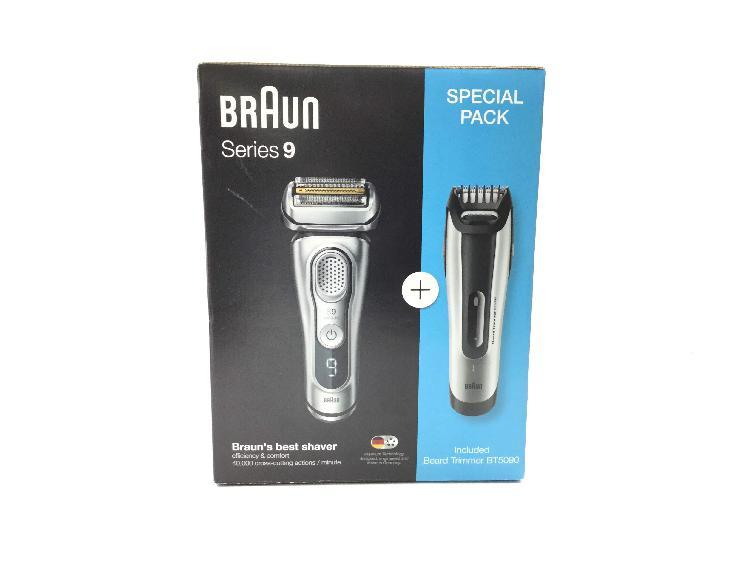 Afeitadora electrica braun series 9 especial pack