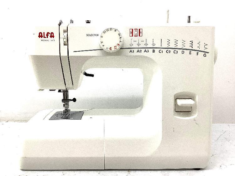 Maquina coser alfa 1603
