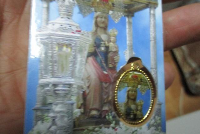 Medalla patrona valladolid señora de san lorenzo segun