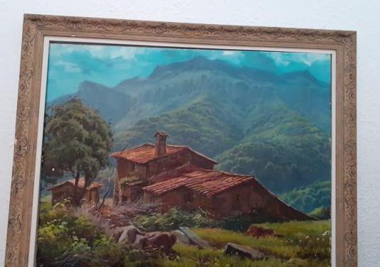 Paisaje pintada