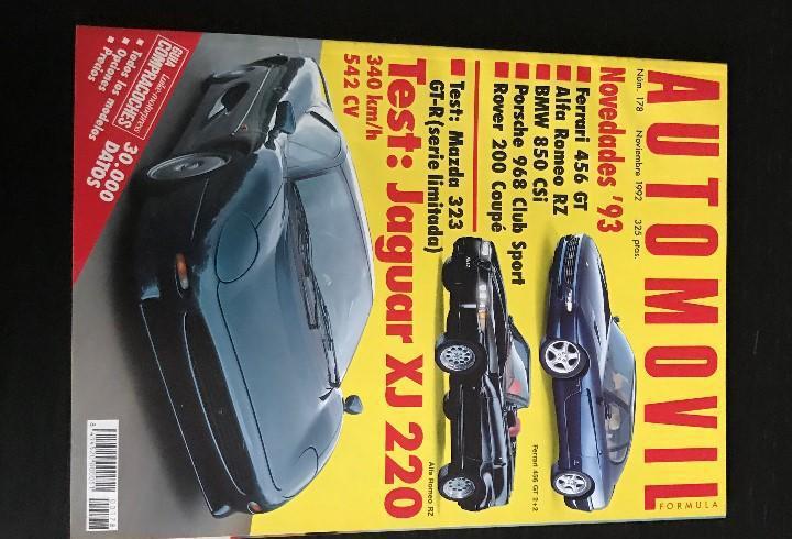 Automovil nº 178 - jaguar xj 220 mazda 323 gtr ferrari 456