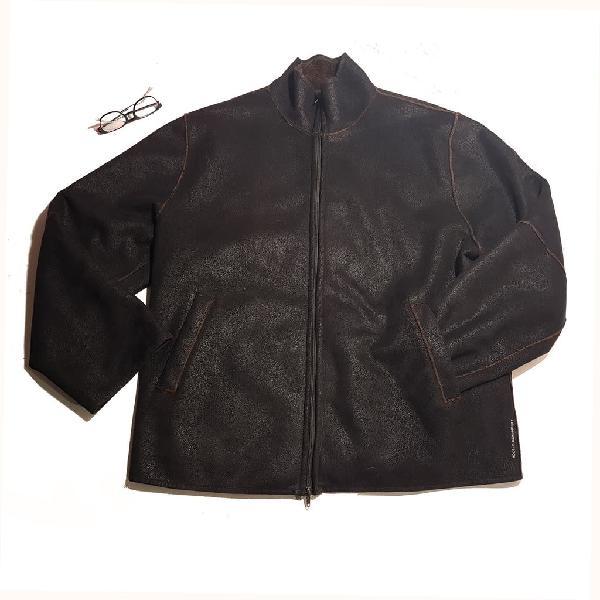 Adolfo domínguez/ chaqueta efecto piel t:52