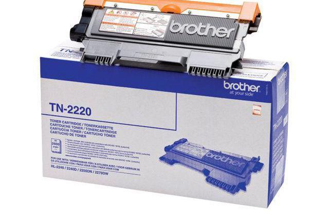 Brother toner laser negro 2. 600 p ginas hl-/2240d/ tn22