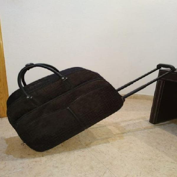 Bolso maleta de cabina con ruedas y tirador