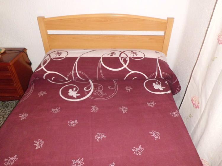 Cama + somier + colchón 105 x 180