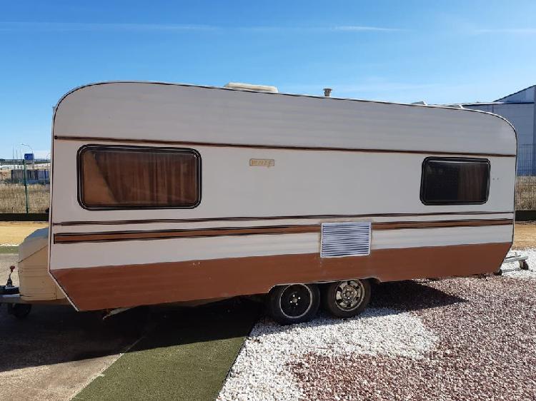 Caravanas para camping o parcela