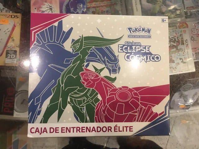 Caja de Entrenador Élite de Sol y Luna-Eclipse Cós