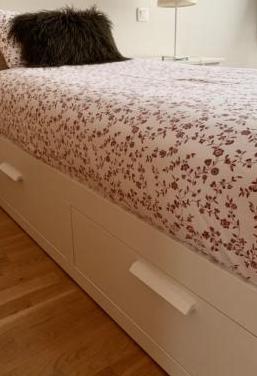 Cama nido brimnes ikea blanco colchón