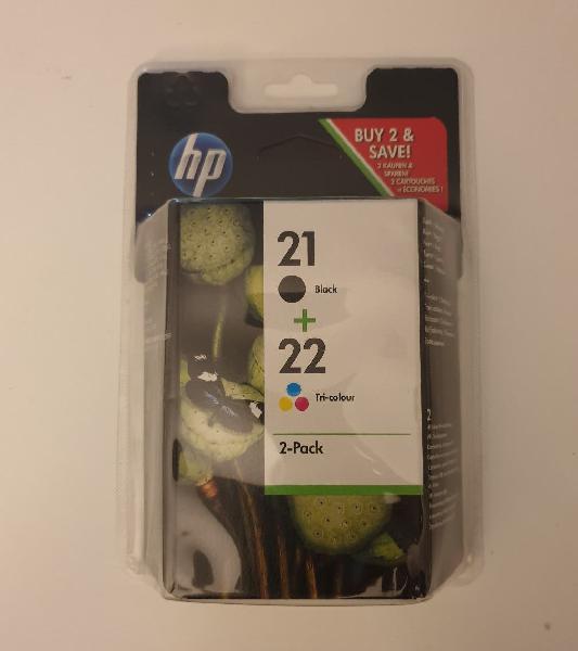Cartuchos tinta hp 21/22.