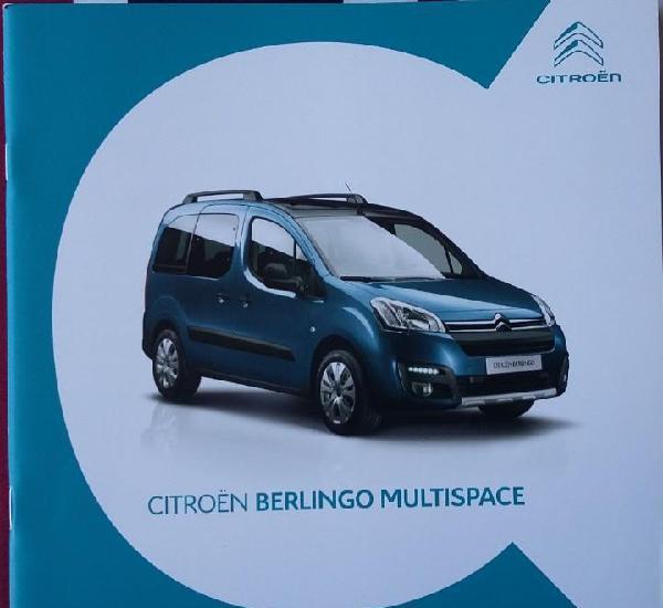 Catálogo citroen berlingo multispace. junio 2017. en