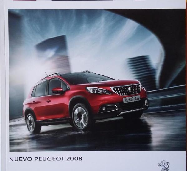 Catálogo peugeot 2008. marzo 2016. en español