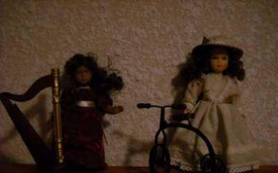 Coleccion muñecas de porcelana