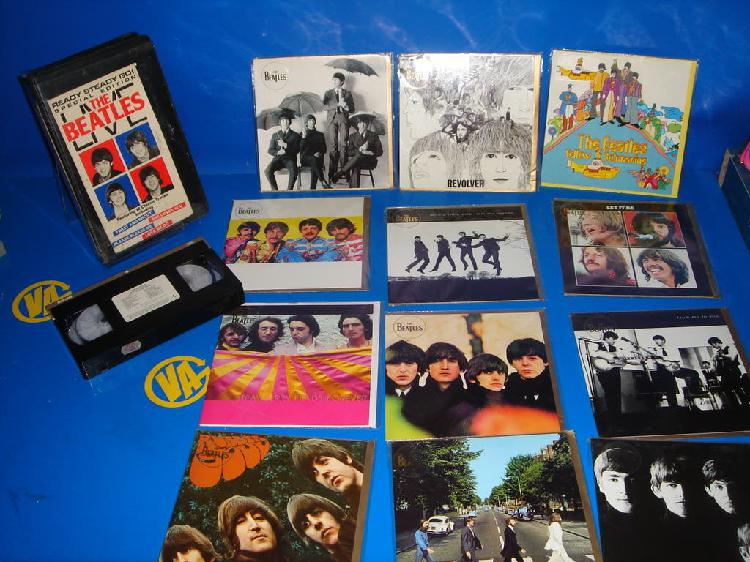 Coleccionismo the beatles - portadas de sus discos