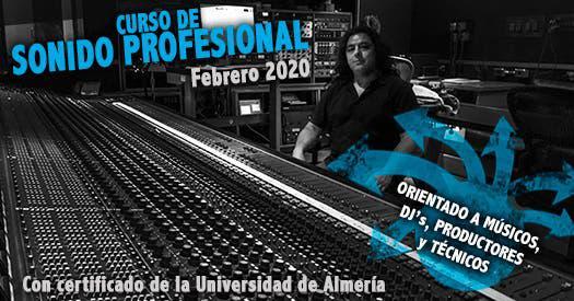 Curso sonido profesional - certificado ual