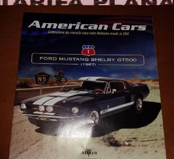 Fasciculo n 1 ford mustang shelby gt500 de la coleccion