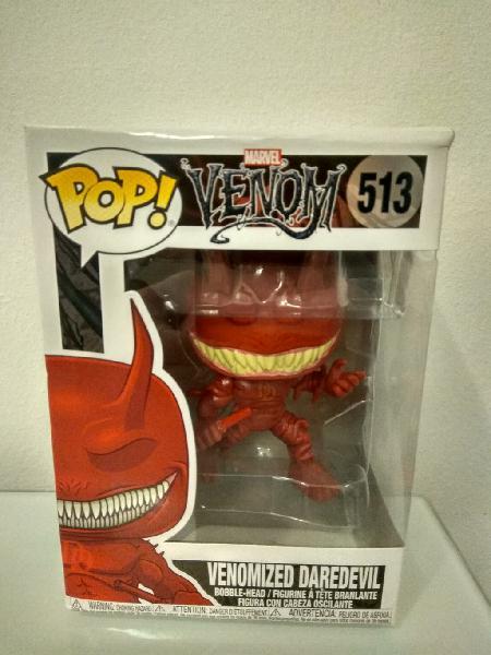 Figura funko pop! - daredevil venomizado - marvel