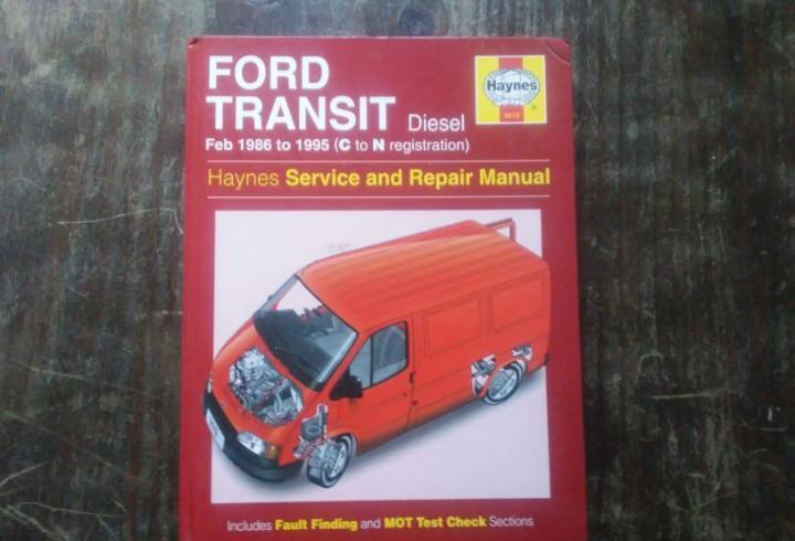 Ford transit diesel 1986-1995 manual de mantenimiento y