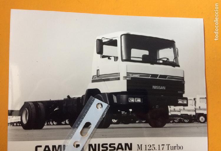 Foto camion nissan ebro m 125.17 turbo