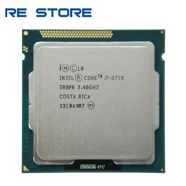 Intel core i7 3770 3,4 ghz