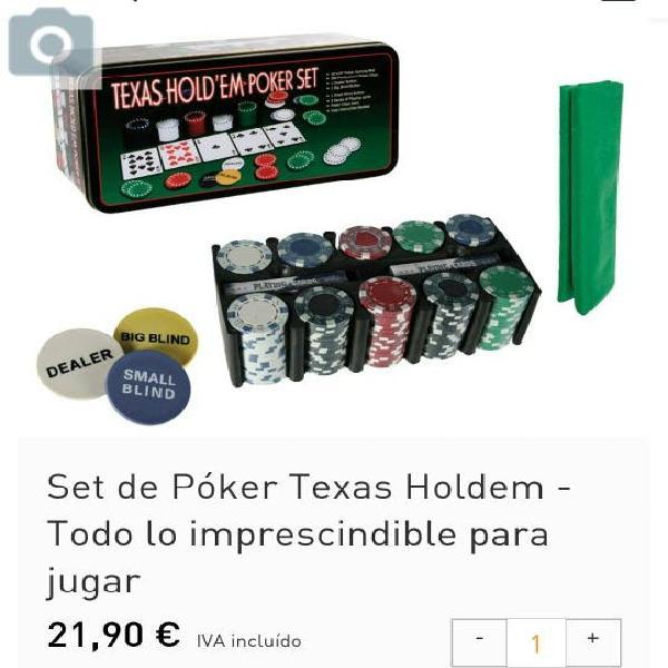 Juego de poker texas holdem nuevo
