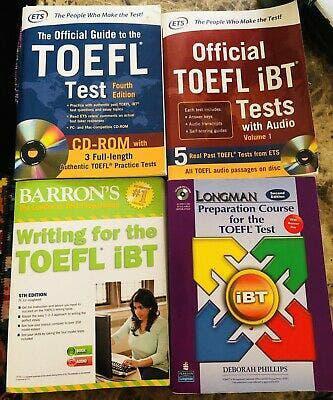 Libros inglés toefl, toeic y gmat