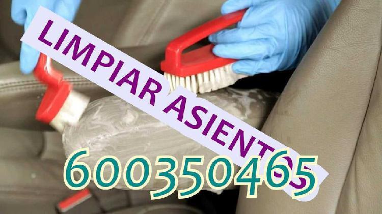 Limpieza de coche interior lavado interior