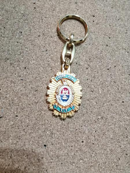 Llavero policia local elche