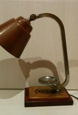 Lámpara antigua art deco