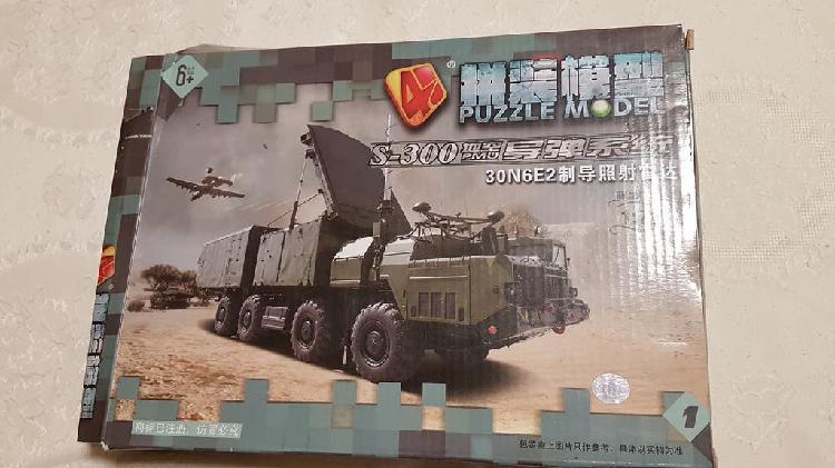 Maqueta de vehículo con radar escala 1:72